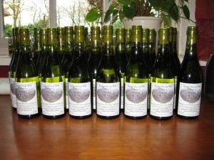 de eerste witte wijn