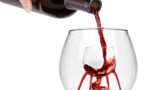 'Beluchtende' wijnglazen…